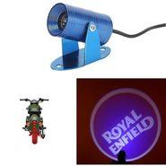 AutoSun® Bike 3D LED Shadow Laser Light-Royal Enfield