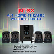 Intex 4.1 Home Theatre with BT