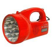 Kawachi Portable Mini Speaker Torch With Flashlight & Radio Player_K199