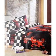 Amore Designer Printed Double Bed Soft Blanket-KDAW15