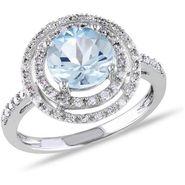 Kiara Swarovski Signity Sterling Silver Anjali Ring_Kir0733 - Silver