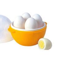 New Microwave Egg Boiler - Orange & White