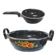 Cook and Serve Kadai and Tadka Enamelware