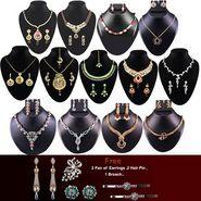 Kriaa 13 Pcs Jewellery Set Combo