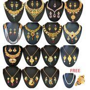 Kriaa 15 Pcs Jewellery Set Combo