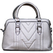 Sai Arisha PU Grey Handbag -LB620