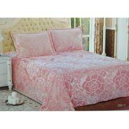 Velvet Double Bedsheet With 2 Pillow Cover-LE-VELV-003