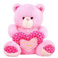 Valentine stuff Woody Teddy Bear 40 cm - Pink