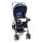 Pram Musical Comfort Cushioned Assorted Colour