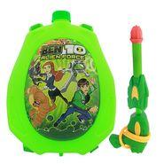 Holi Water Pichkari Back Pack Cartoon Tank Squirter F17 - Green