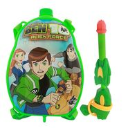 Holi Water Pichkari Back Pack Cartoon Tank Squirter F3 - Green
