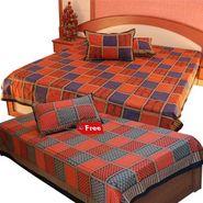 Little India Double Bedsheet Set- DL3COMB148