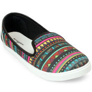Meriggiare Canvas Multicolor Casual Shoes -Mgfb1008K