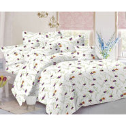Valtellina Double Bed Sheet with 2 Pillow Cover-MO-135