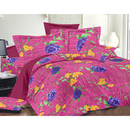 Valtellina Double Bed Sheet with 2 Pillow Cover-MO-265
