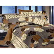 Valtellina Double Bed Sheet with 2 Pillow Cover-MO-360