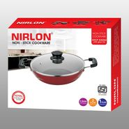 Nirlon Non Stick Frypan With Lid-2 Ltr_NR48422