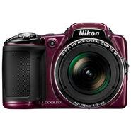 Nikon Coolpix L830 Plum - 16MP, 34x Optical Zoom, Full HD Movie Recording, 68x Dynamic Zoom Support