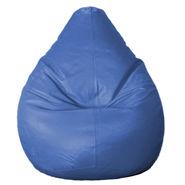 PSYGN Leatherette Standard Bean Bag Cover -  PBB200-BLUE-XL