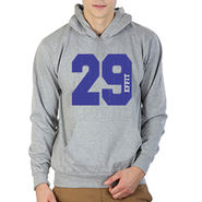Printland Full Sleeves Cotton Hoodies_Pg1123 - Grey