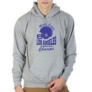 Printland Full Sleeves Cotton Hoodies_Pg1124 - Grey
