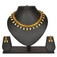 Pourni Traditional Necklace Set With Earring_PRNK148