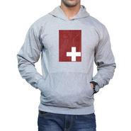 Effit Printed Regular Fit Full Sleeves Cotton Hoddies for Men - Grey_PTLHODY0077