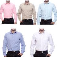 Set Of 5 Mind The Gap Formal Cotton Shirts