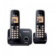 Panasonic KX-TG-3712SXB Dual Cordless Handsets - Black