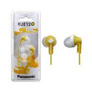 Panasonic RP-HJE120 Canal Type Insidephone (Yellow)