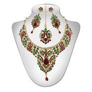 Panini Traditional Necklace Set - Multicolour _ 2647