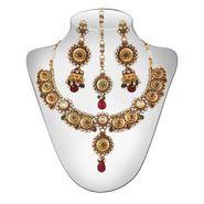 Panini Traditional Necklace Set - Multicolour _ 98