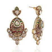Panini Designer Dangle Earrings - Multicolour _ F-149