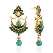 Panini Designer Dangle Earrings - Multicolour _ F-112