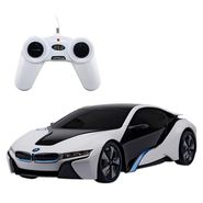 BMW i8 Concept 1:24 Remote Control Toy Car Model - White