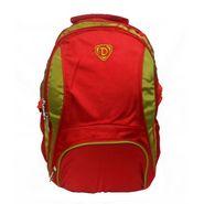 Donex Nylon Laptop Backpack RSC431 -Red& Green