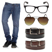 Royal son Mens Essential Accessories Combo With Denim Jeans_RSC006