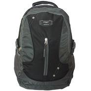 Donex Nylon Black Grey Laptop Backpack -Rsc01367