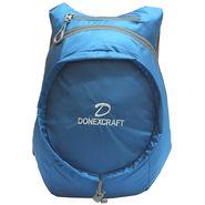 Donex Polyester Blue Backpack -Rsc01474