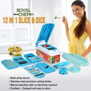 Royal Chef 12 in 1 Slice & Dice