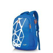 Skybags Blue Laptop Backpack_Geek 04 Blue