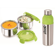 NanoNine 2 Pcs Lunch Pack With Energy Cool Bottle_SS103