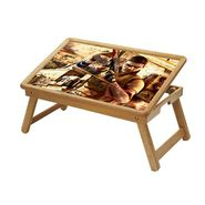 Shopper52 Foldable Wooden Study Table For Kids-STUDY024
