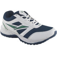 Branded Mesh Sports Shoes Sup5050 -White