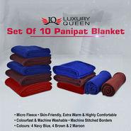 Set of 10 Panipat Blanket