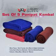 Set of 5 Panipat Kambal