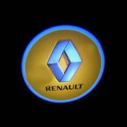Set of 2 pcs Branded Car Door Welcome Light LED Projection Ghost Shadow Light Laser Renault Logo