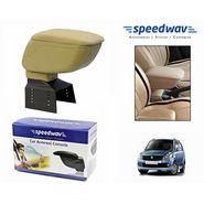 Speedwav Car Armrest Console Beige Color- Maruti New WagonR