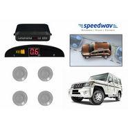Speedwav Reverse Car Parking Sensor LED Display SILVER - Mahindra Bolero