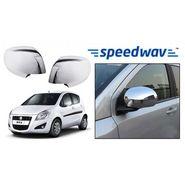 Speedwav Maruti Suzuki Ritz Chrome Mirror Covers Set of 2